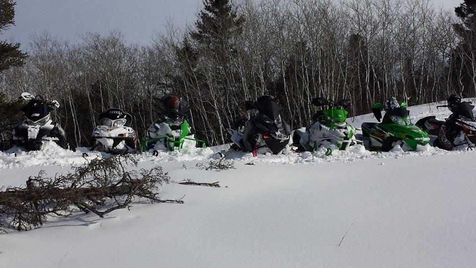 Alberta snowmobile poker rally 2018